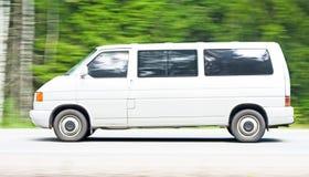 有篷货车白色 免版税库存照片