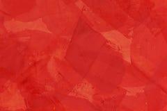有红色油灰的墙壁 免版税库存照片