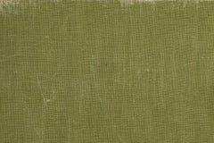 有绿色屏幕样式的葡萄酒布书盖子 免版税库存图片