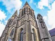 有罗马的圣Clement的纪念碑的St克莱门斯教会索林根的,德国 库存图片