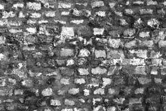 有老石头的古老城堡墙壁 抽象背景 单色纹理 图象包括一个作用黑色和 免版税图库摄影