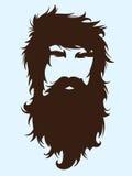 有胡子的人 库存照片