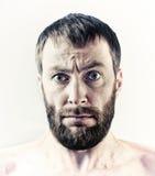 有胡子的人 免版税库存照片