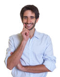 有胡子的聪明的拉丁人 库存图片