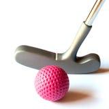 微型高尔夫球材料- 02 库存照片