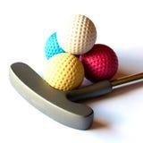 微型高尔夫球材料- 03 免版税库存图片