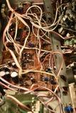 有芯片的电子委员会 库存图片
