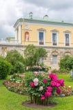有著名玛瑙房间的Ð ¡老巴恩在凯瑟琳公园, Tsarskoe S 库存照片