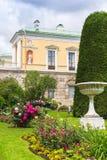 有著名玛瑙房间的Ð ¡老巴恩在凯瑟琳公园, Tsarskoe S 免版税图库摄影