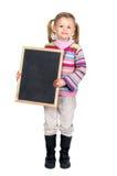 有董事会的女孩 免版税图库摄影