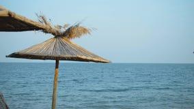 有蓝天和遮光罩的Seaview全景 影视素材