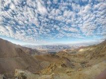 有蓝天的喜马拉雅山 免版税库存照片