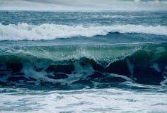 有蓝色颜色的海 库存照片