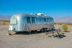 有蓬卡车, Death Valley国家公园,加利福尼亚 库存照片