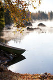 有薄雾的早晨 图库摄影