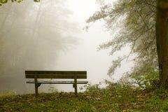 有薄雾的横向 免版税图库摄影