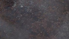 有薄雾的领域在挪威 股票视频