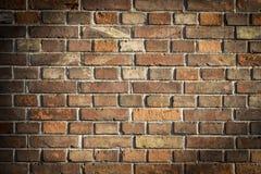 有装饰图案的砖墙 免版税图库摄影