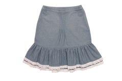 有装饰衣裙的棉花裙子 免版税库存图片
