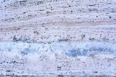 有装饰金属的-石灰华5墙壁 免版税库存图片