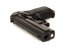 有角度的手枪 免版税库存图片