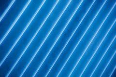 有角度的蓝色条纹 库存图片