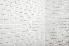 有角落的,抽象背景照片白色砖墙 库存照片