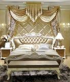 有设计家具的现代客厅 库存照片