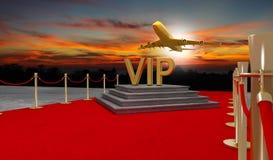 有豪华的vip隆重的私人喷气式飞机 库存图片