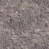 有起动道的无缝的含沙道路 背景,纹理 免版税库存图片
