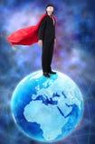 有超级大国的人统治世界的 免版税库存照片