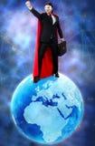 有超级大国的人统治世界的 库存图片