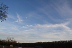有趣的云彩 库存照片