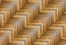 有趣的镶边木条地板样式 免版税库存图片