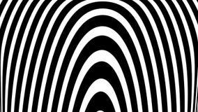 有转动的催眠螺旋无缝的英尺长度 使与转动的圈子段的生气蓬勃的背景序列成环 向量例证