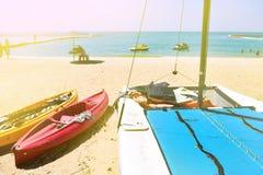 有选择性的美好的海滩概念 免版税库存图片