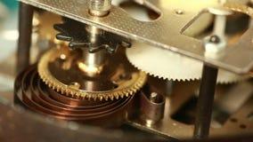 有选择性闹钟特写镜头重点mechanismthe老的照片 影视素材