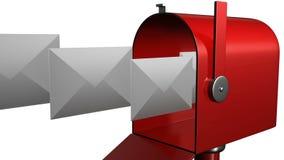 有邮件您 皇族释放例证