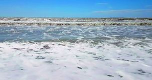 有金沙子的,假日热带加勒比海滩海,放松和 影视素材