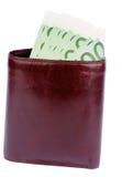 有金钱的钱包 免版税图库摄影