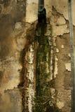 有铁锈的老墙壁 库存照片
