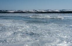 有镇压的Ice湖 免版税图库摄影