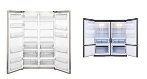 有门户开放主义的冰箱被隔绝的 库存图片