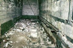 有难以置信的恐怖地下室 免版税库存照片