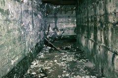 有难以置信的恐怖地下室 图库摄影