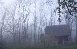 有雾的客舱 库存图片