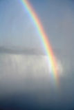 有雾的彩虹 免版税库存图片