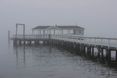有雾的日 免版税库存照片