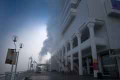 有雾的早晨在加拿大地方#1 库存照片