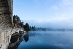 有雾的早晨 图库摄影